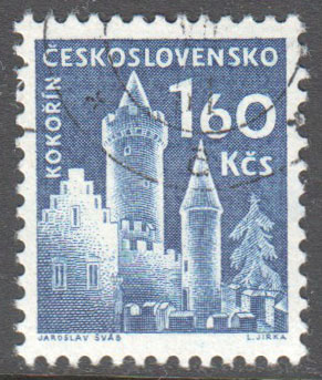 Czechoslovakia Scott 977 Used